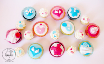 New baby cupcakes