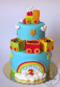 Train cake