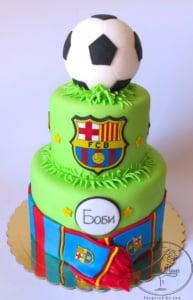 Barcelona FC cake