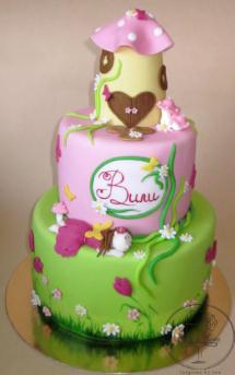 The sleeping fairy cake