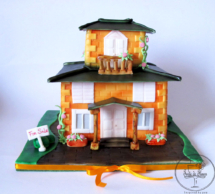 Estate agency house cake