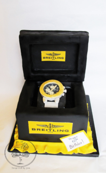 Watch in a box cake