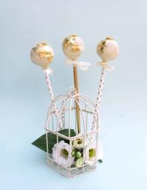 24K Gold Cake Pops