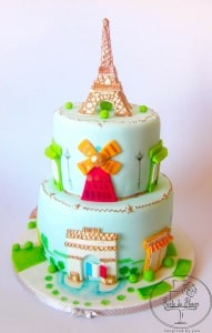 From Paris with Love Cake