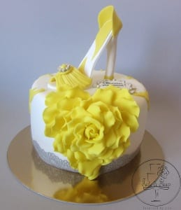 Love Shoes Cake