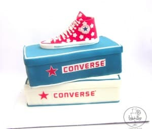 Converse 15th Birthday cake