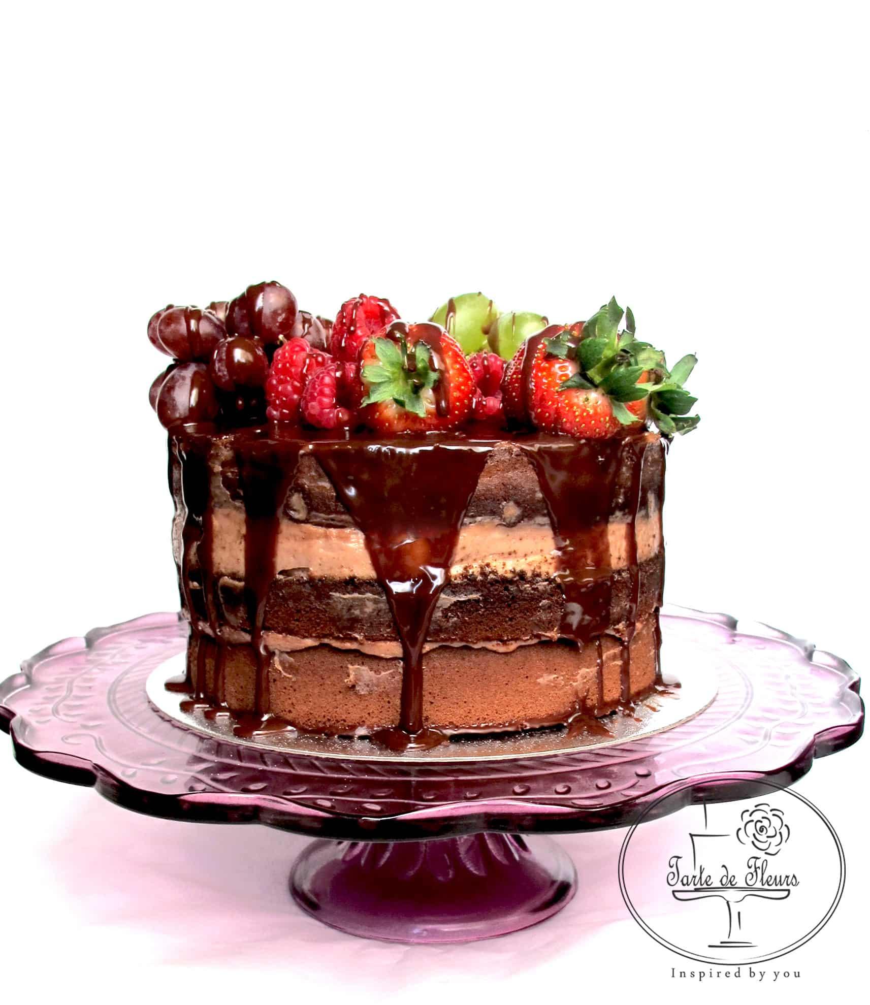 Mascarpone Chocolate Cake