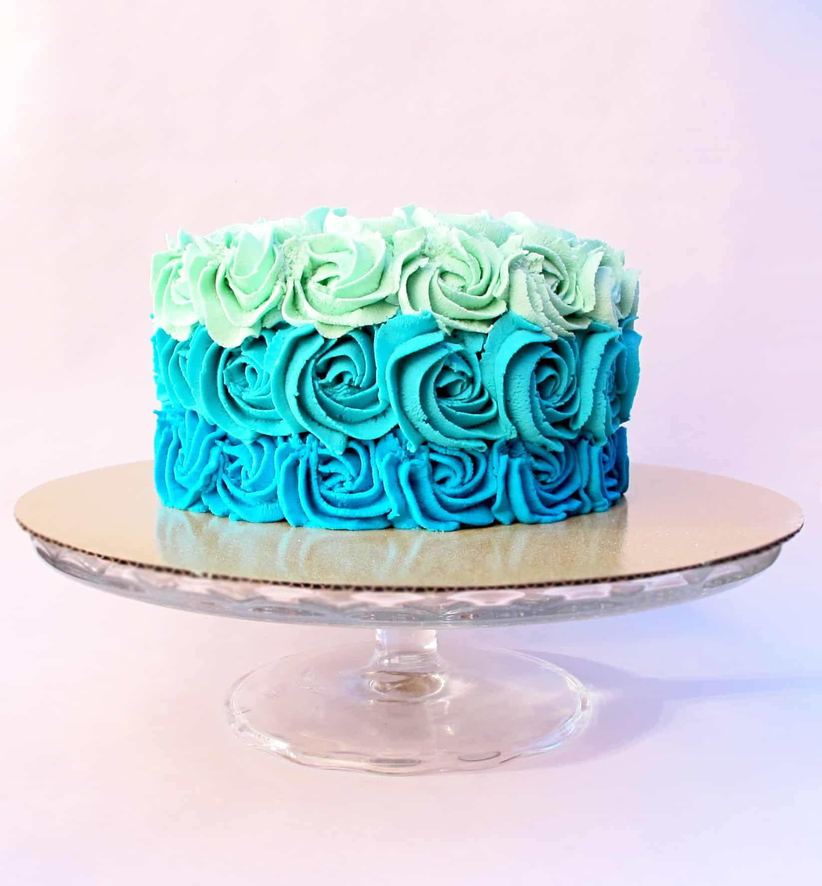 Smash Cake 1st Birthday Blue