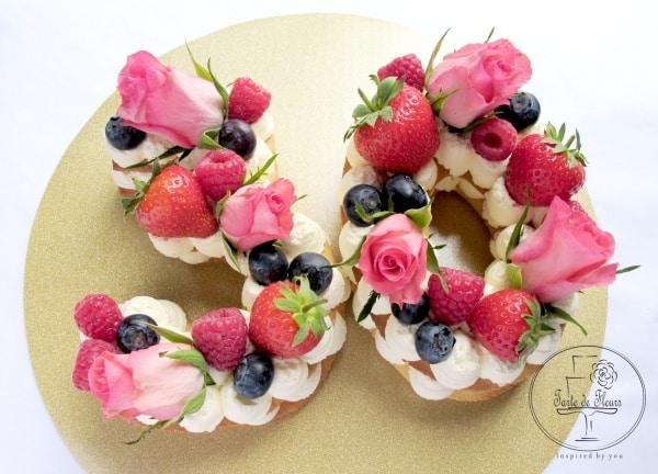 30 cookie cake