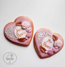 Mrs & Mr Wedding Cookies