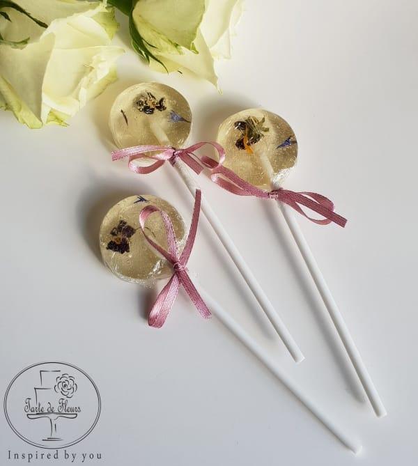Edible Flowers Lollipop