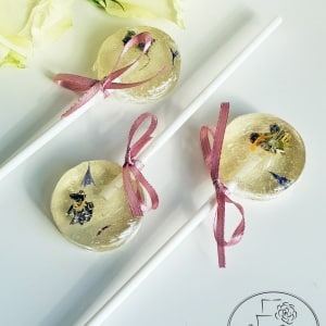 Edible Flowers Lollipop