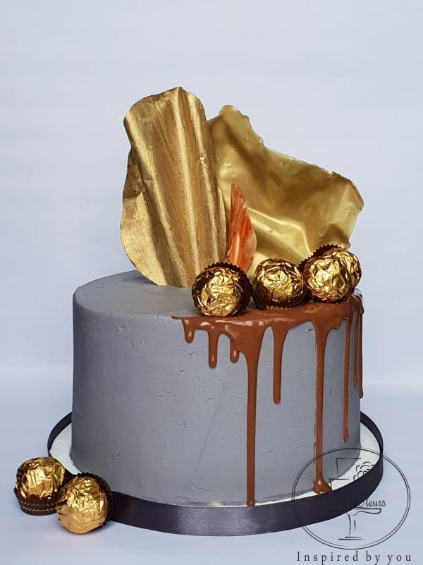 Gold Chocolate Cake