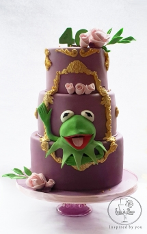 Kirmit the frog cake