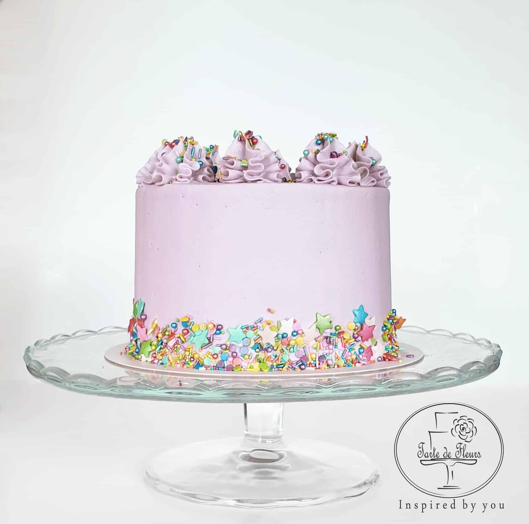 Incredible Sprinkles Birthday Cake Order Online Tarte De Fleurs Harlow Personalised Birthday Cards Epsylily Jamesorg