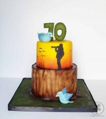 Photographer cake