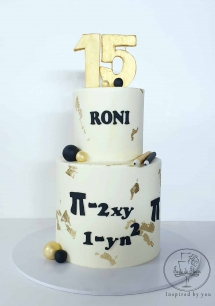 Maths Themed Cake