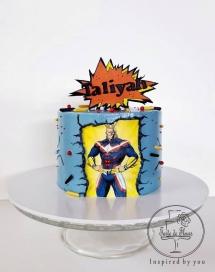 My Hero Academy Cake