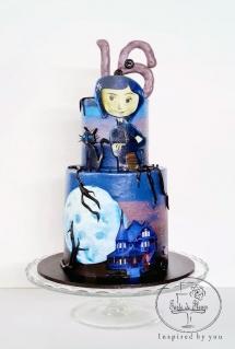Coraline Cake